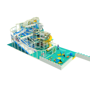 Snow And Ice World Theme Indoor Children's Playground