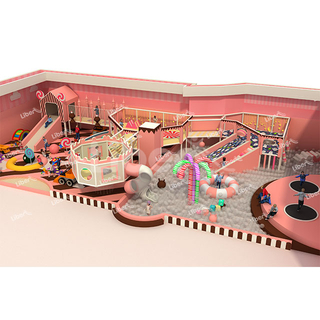 Indoor Playground Equipment of Candy Theme