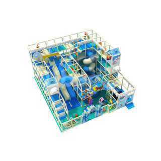 Blue Stereoscopic Space Indoor Children's Playground