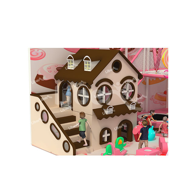 The Manufacturer of Indoor Theme Playground Customization of Warm Beach Town