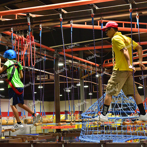 How About The Indoor Ropes Course Park? How About Fun?