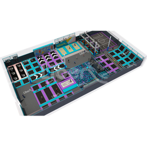 Manufacturer Direct Sale for Liben Standard Customized Trampoline Park