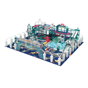 The Manufacturer of British-style Theme Playground Equipment Customization